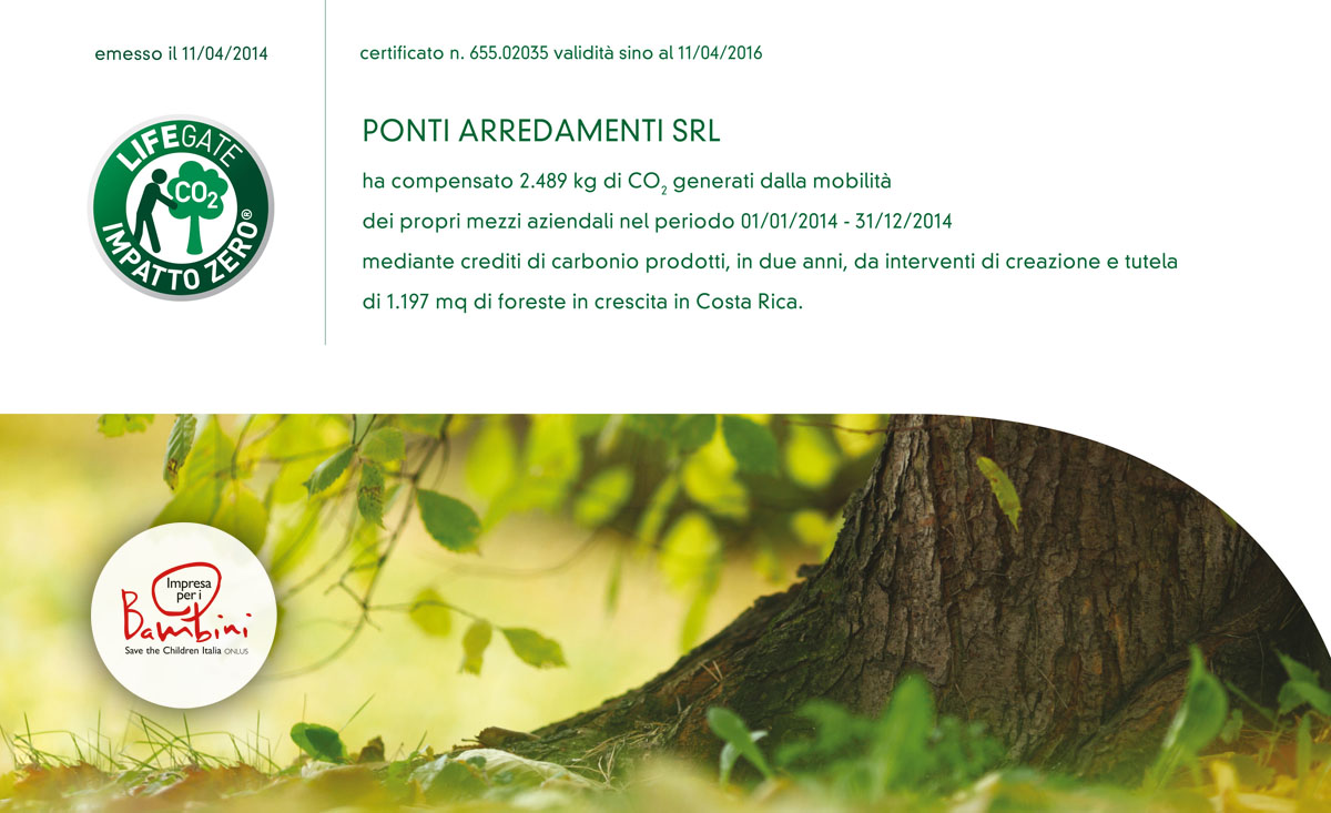 Ponti arredamenti _2014_impatto_zero_save_the_children
