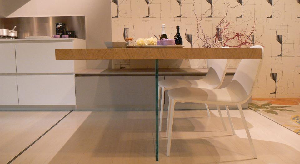 Essenzialit ordine razionalit la cucina bianca arredamenti mantova ponti arredamenti - La cucina mantova ...